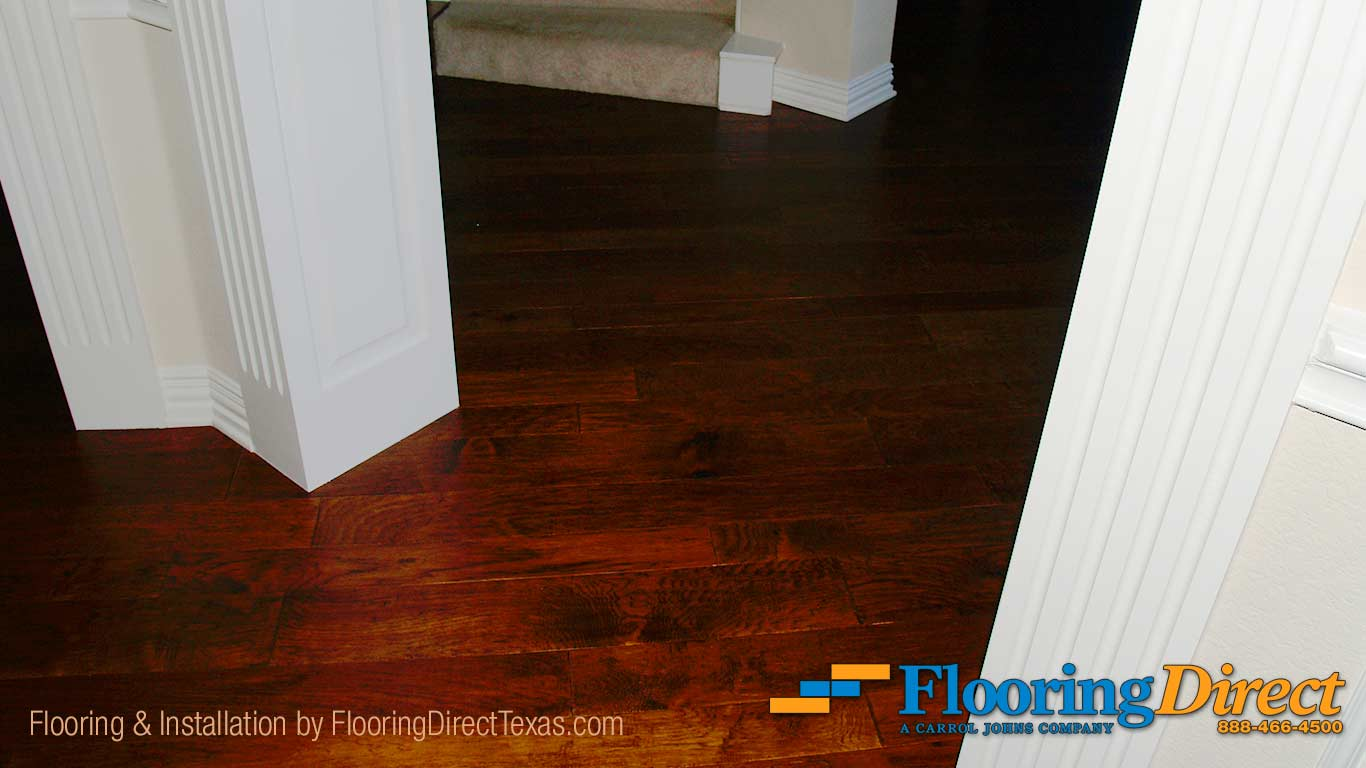 Hardwood flooring installation with flush cut and cut for Hardwood floors examples