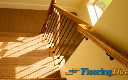 Carpet Stairway Runner by Flooring Direct