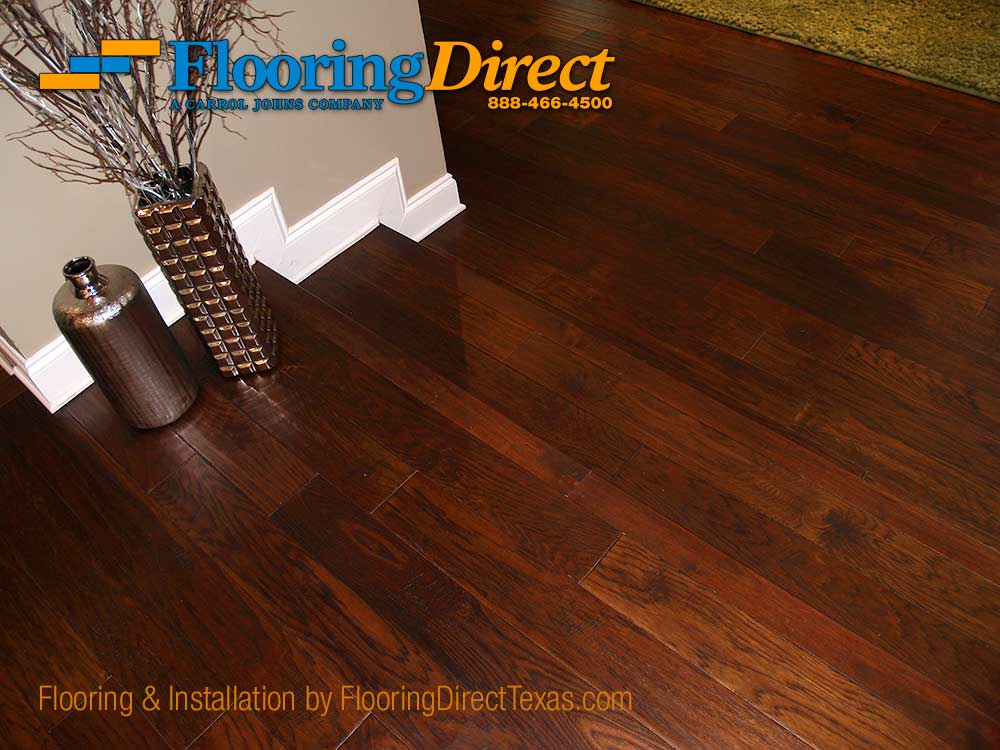 Hardwood Flooring Install in Dallas Residence by Flooring Direct