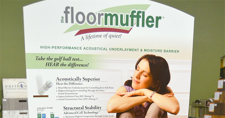 FloorMuffler for Hardwood Flooring