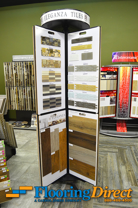 Tile Flooring and Trims by Eleganza Tile