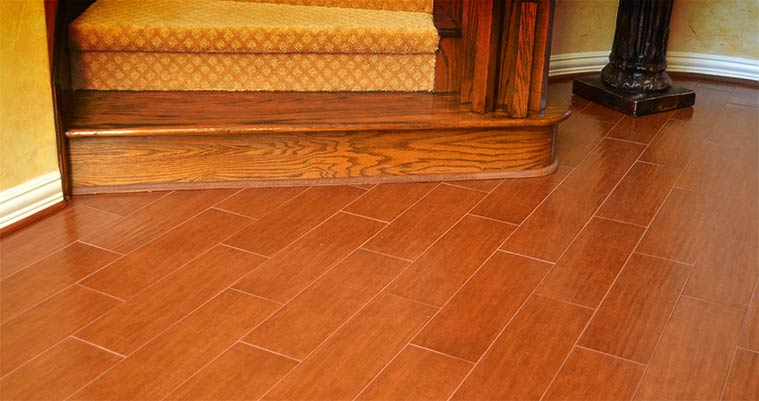 Wood-look Tile 5.99 per Square Foot Installed