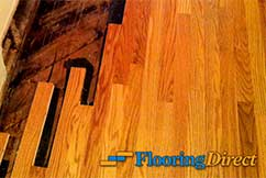 Hardwood Repair by Flooring Direct