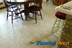 Tile Flooring Install by Flooring Direct