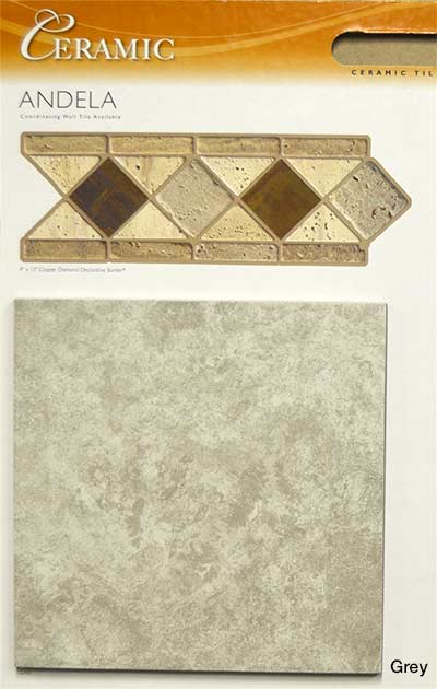 Mohawk Andela Ceramic Tile Grey