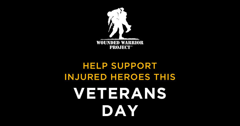 Help Support Injured Heroes This Veterans Day