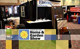 Flooring Direct at Home and Garden Show Booth 510
