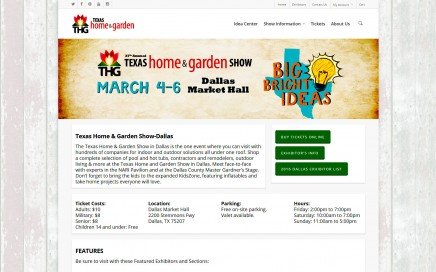 37th annual texas home and garden show march 4 6 - Home And Garden Show Dallas