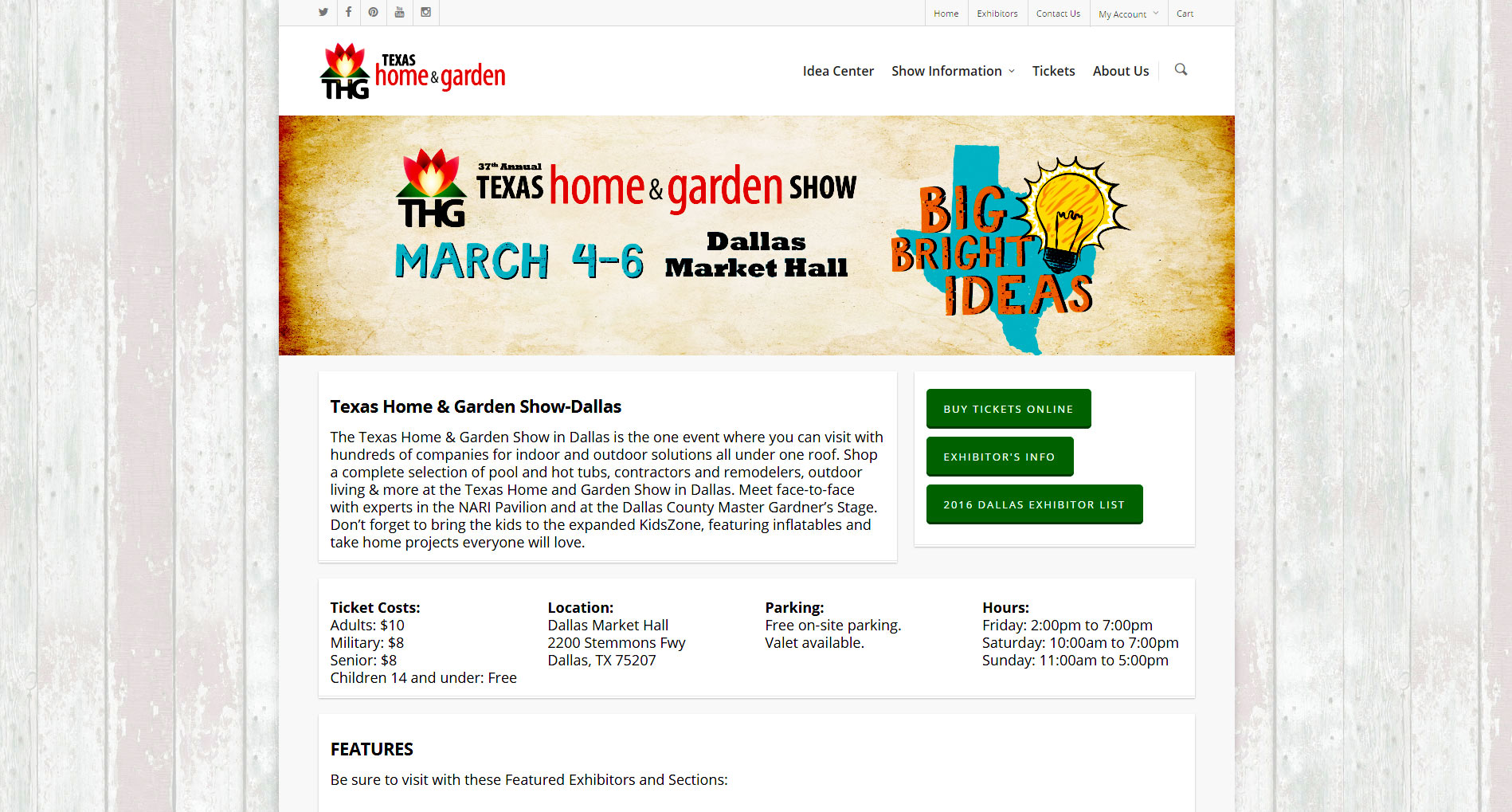 37th Annual Texas Home And Garden Show March 4 6