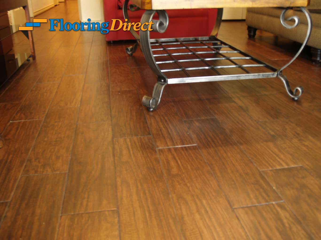 Wood-look Tile Flooring by Flooring Direct serving all of DFW including Carrollton