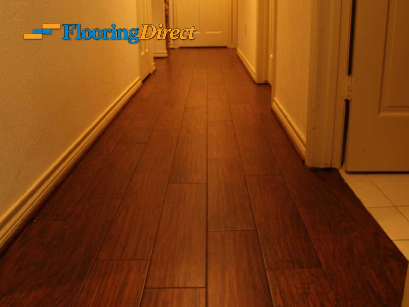 Wood-look Tile Flooring by Flooring Direct serving all of DFW including Hurst.