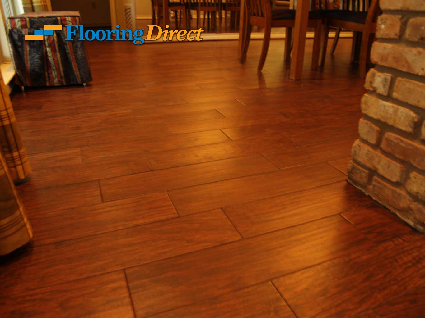 Wood-look Tile Flooring by Flooring Direct serving all of DFW including Irving
