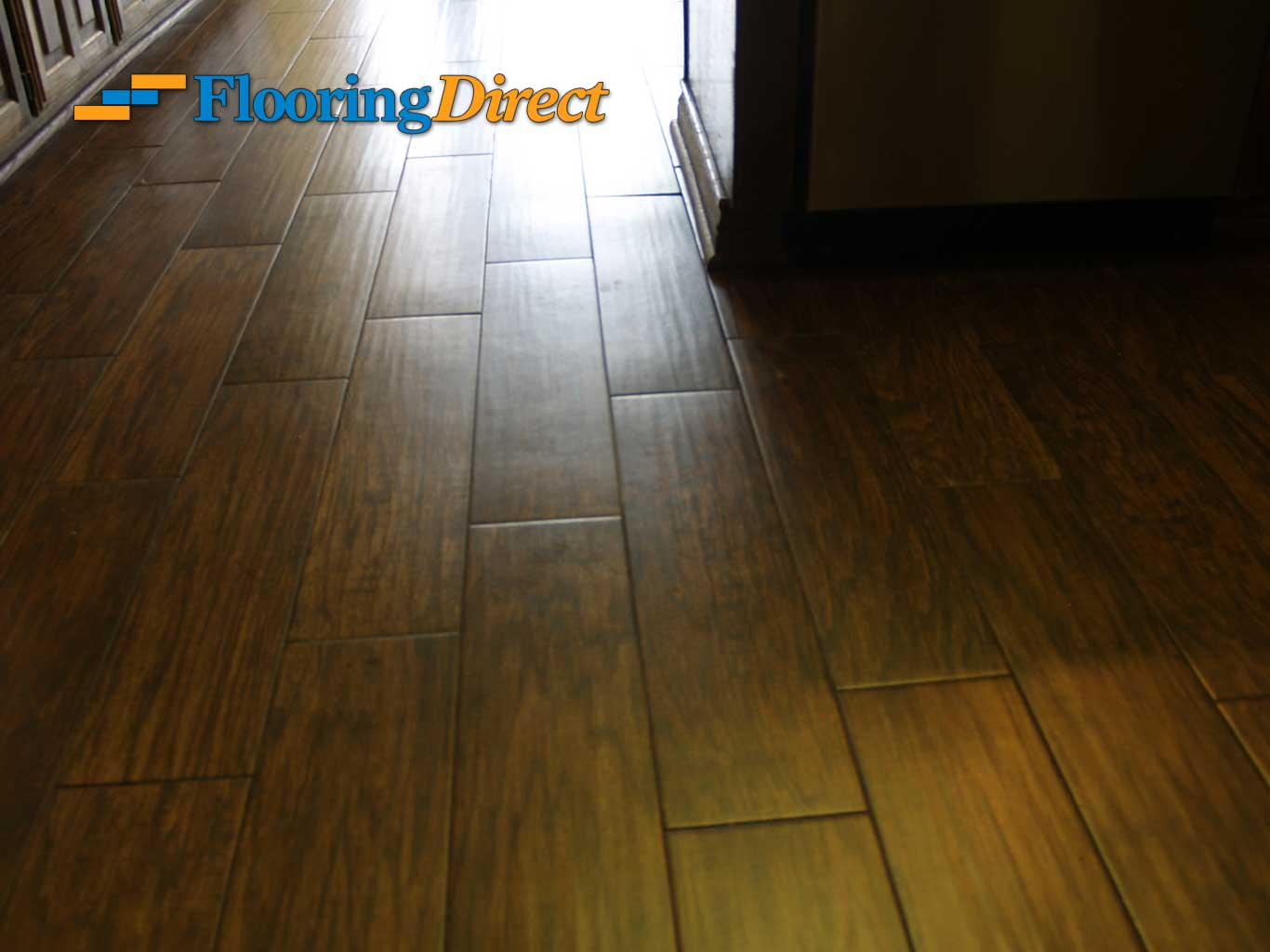 Wood-look Tile Flooring by Flooring Direct serving all of DFW including Richardson