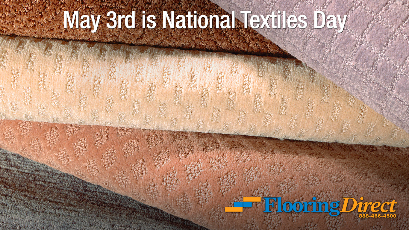 National Textiles Day 2016 - Flooring Direct