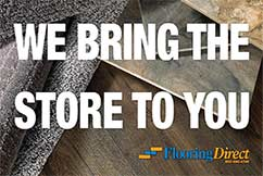 Flooring Direct - We Bring the Store to YOU!
