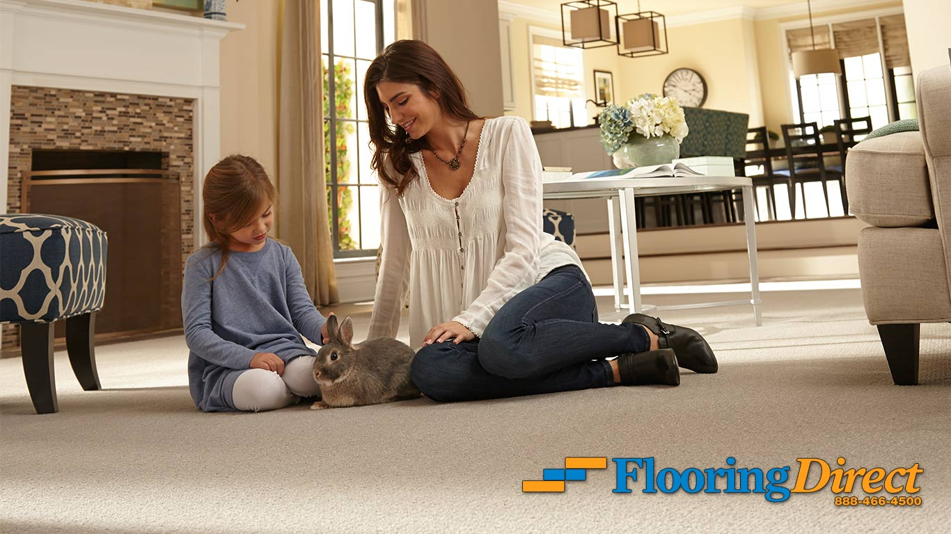 Furry Family Friendly Floors from Flooring Direct