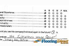 Flooring Direct Review The Installers Were Great
