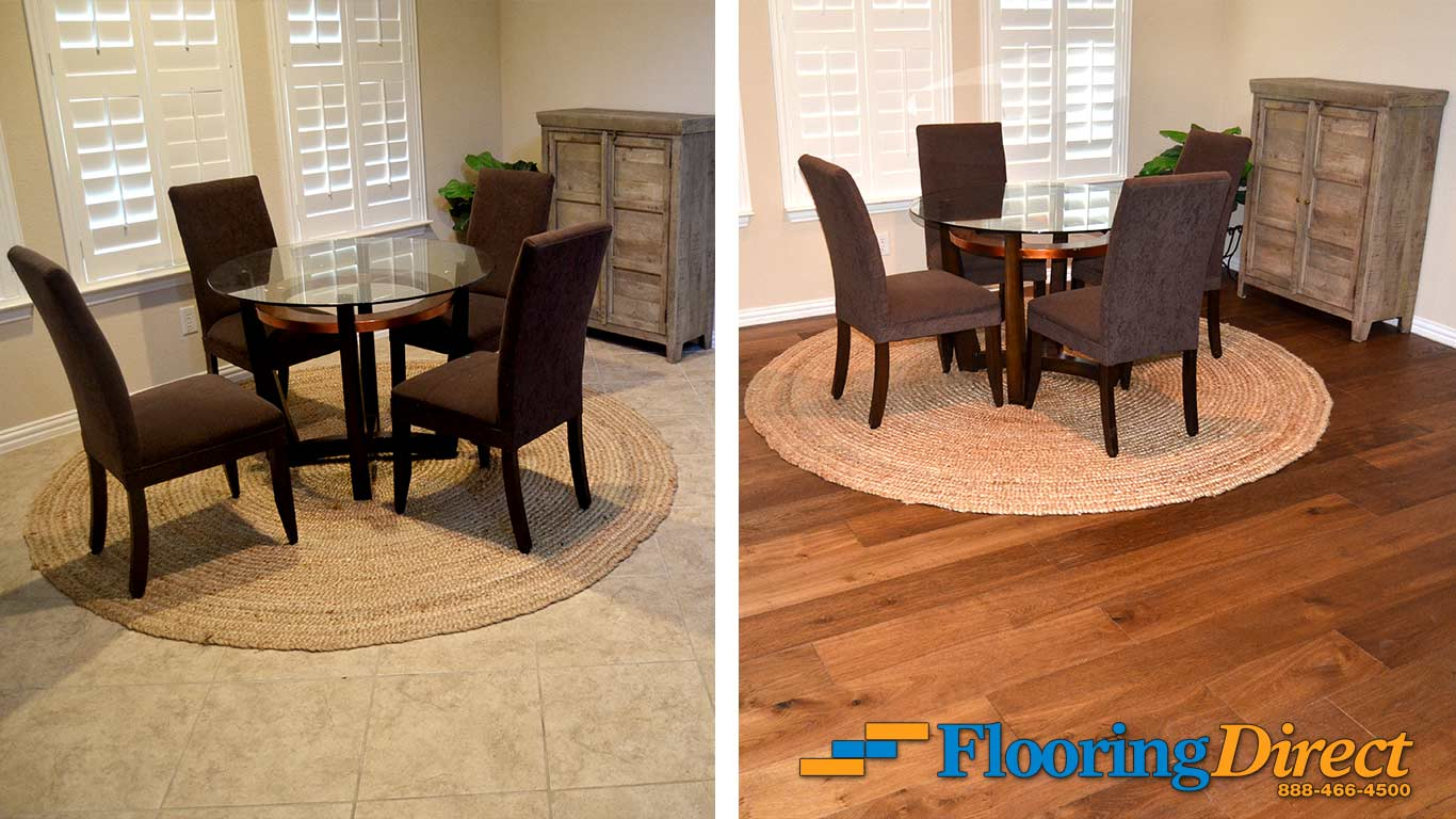 Flooring Direct Tile vs Hardwood