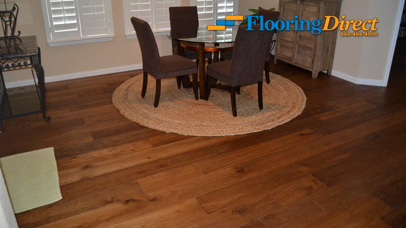 Hardwood flooring 599sqft installed flooring direct hardwood floor installers flooring direct in dallas dining room doublecrazyfo Gallery