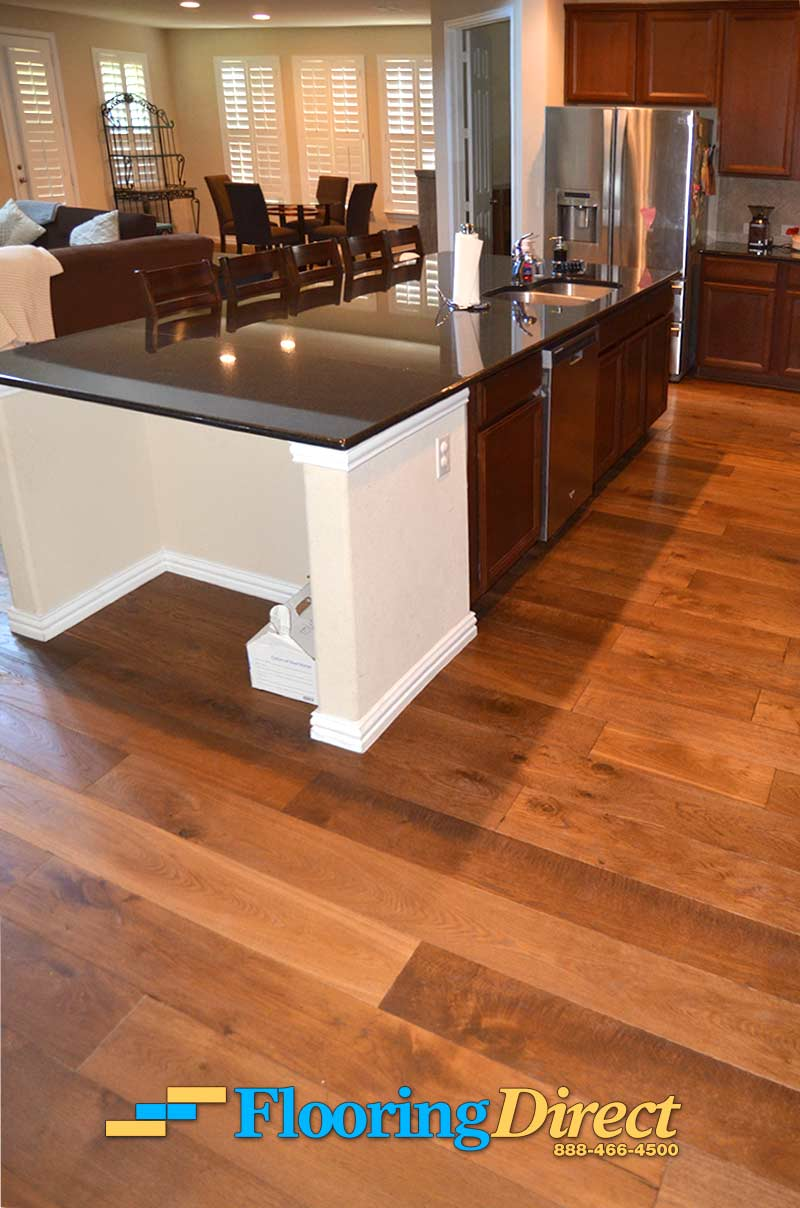 Hardwood flooring installation pictures in dfw flooring for Direct flooring