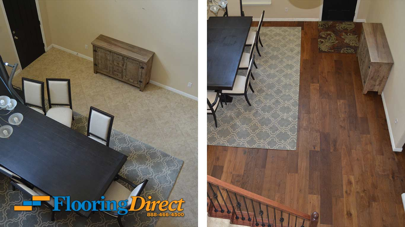 Tile Flooring Hardwood Floors At Flooring Direct Dining Room Entry