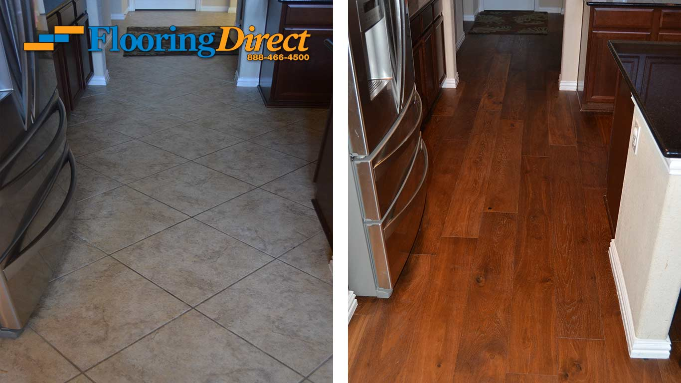 Tile Flooring Hardwood Floors At Flooring Direct Kitchen Flooring