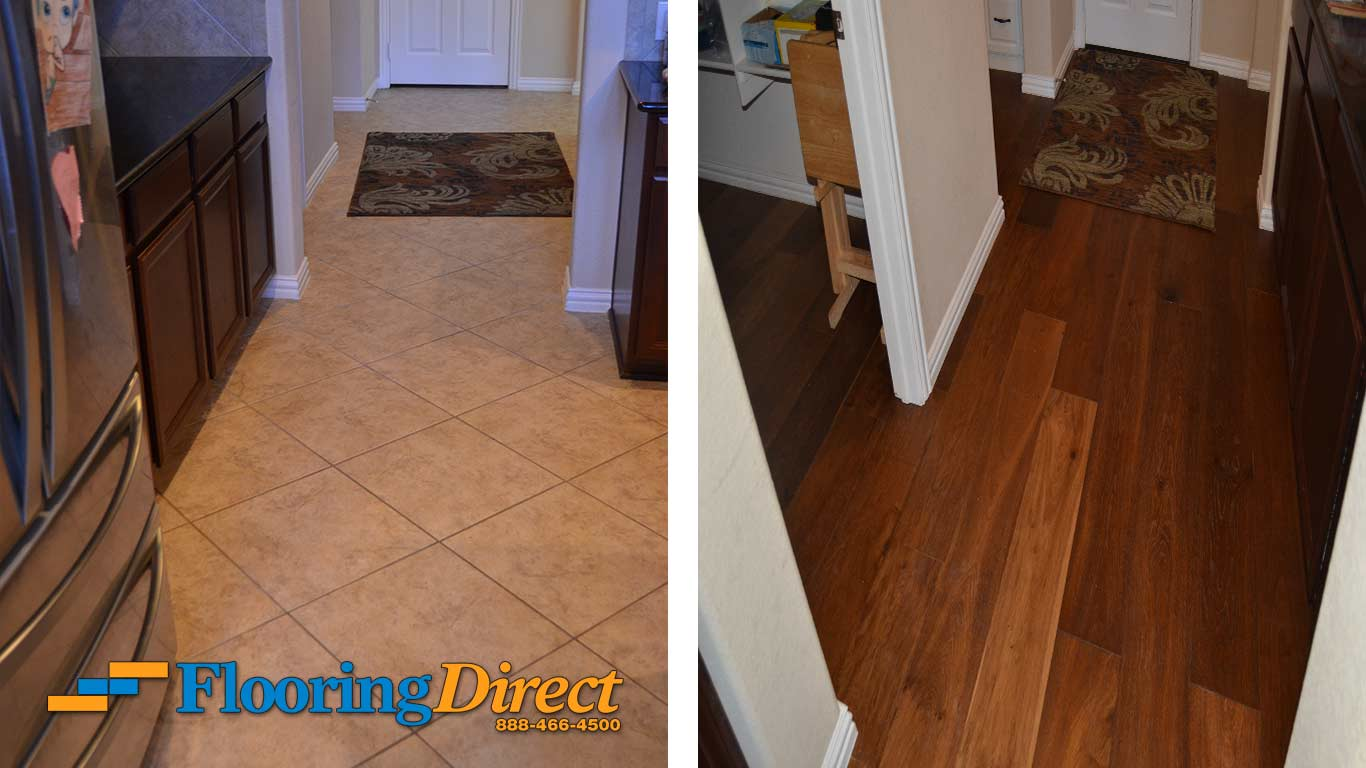 Tile Flooring Hardwood Floors At Flooring Direct Kitchen Hallway