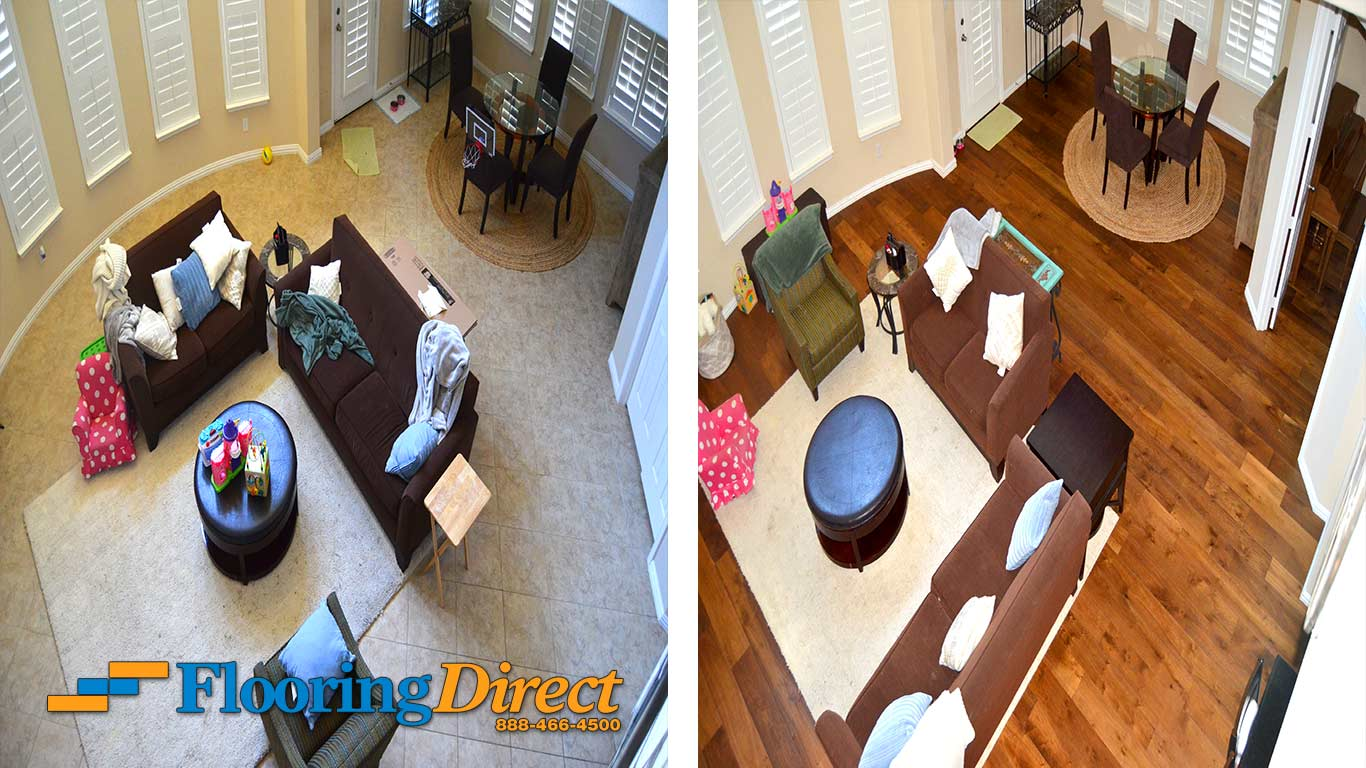 Tile Flooring Hardwood Floors At Flooring Direct Living Room Eating Room