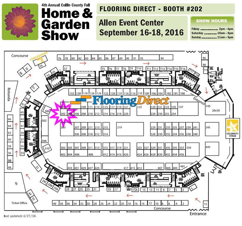 Flooring Direct Booth 202 At The 4th Annual Collin County Fall Home And  Garden Show 2016