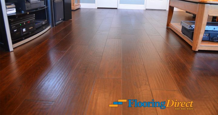Wood Look Tile Flooring Installation Before And After