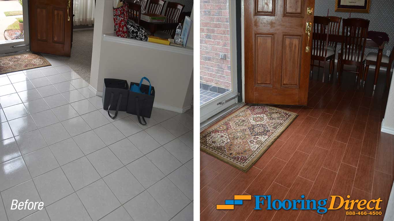 Builder-Grade Flooring Vs Wood-Look on Tile Two For Tuesday by Flooring Direct