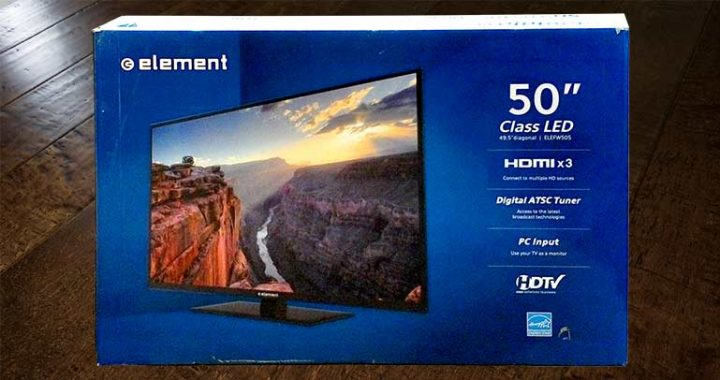 Featured 50-inch TV Giveaway December 2016