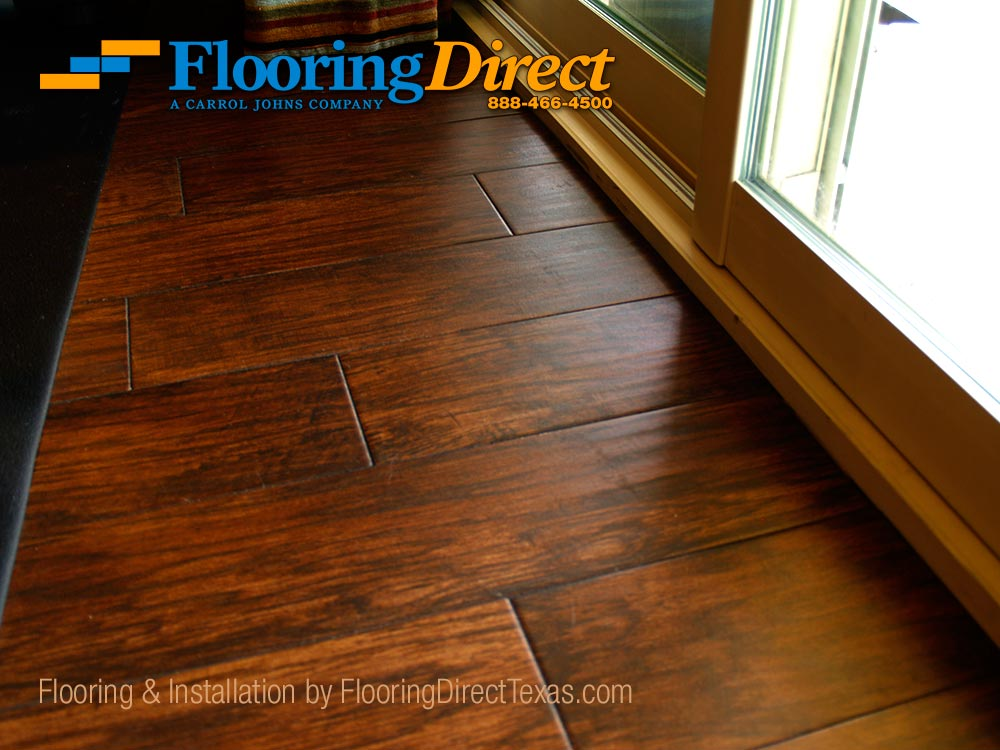 Wood Look Tile At The Entrance To Back Patio Pool Flooring Direct