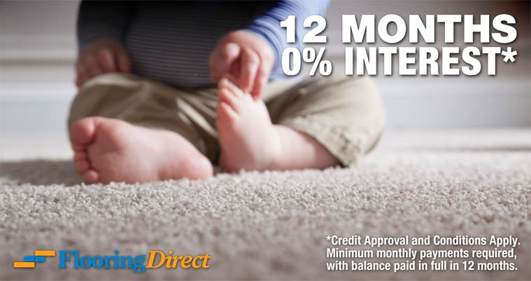 Flooring Direct Easy Financing 12 Months No Interest Carpet 1.98 Square Foot