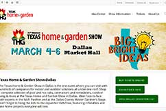 37th Annual Texas Home and Garden Show March 4-6