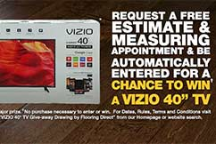 Flooring Direct Vizio TV Give-away Drawing August 2016