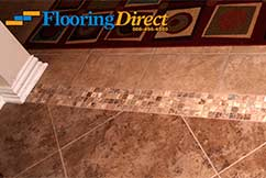 Cermaic Tile Sales And Installation By Flooring Direct Mosaic Transition