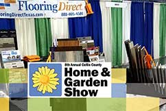 Flooring Direct Booth 510 Collin County Home and Garden Show Center 2017