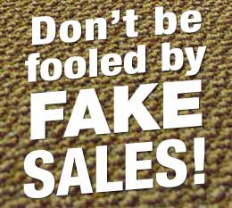 Don't Be Fooled By Fake Sales Featured